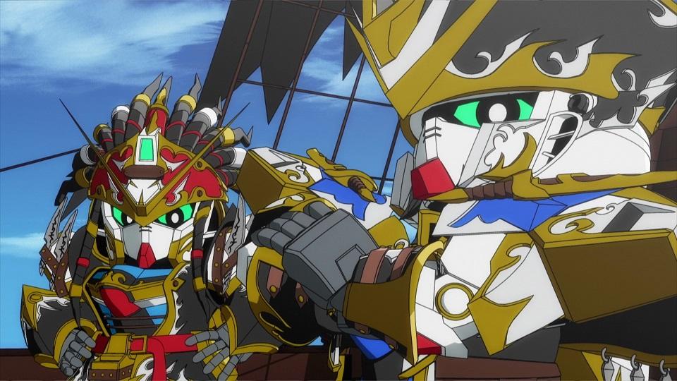 SD GUNDAM WORLD HEROES - Épisode 3 : L'autre Wukong