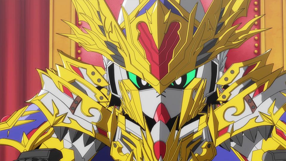 SD GUNDAM WORLD HEROES - Épisode 8 : Le troisième Wukong
