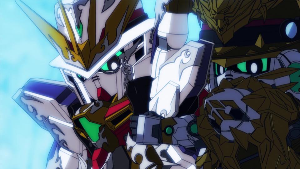 SD GUNDAM WORLD HEROES - Épisode 9 : Cambrioleur X, ami ou ennemi ?